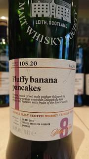 SMWS 105.20 - Fluffy banana pancakes