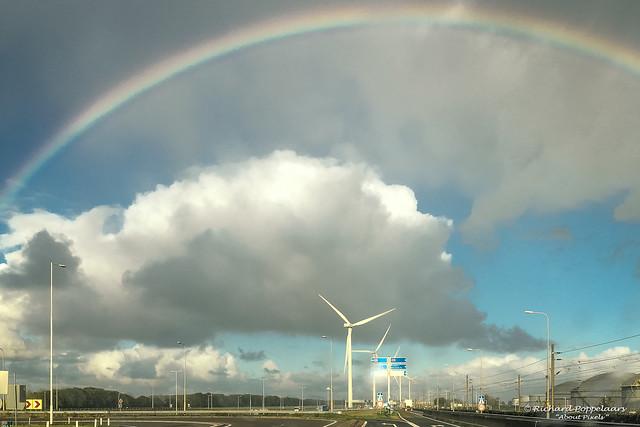 2017-10 Tijd van kleurrijke regenbogen - Europoort Rotterdam