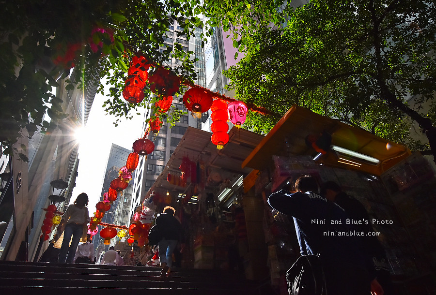 香港景點 舊城中環彩繪牆03
