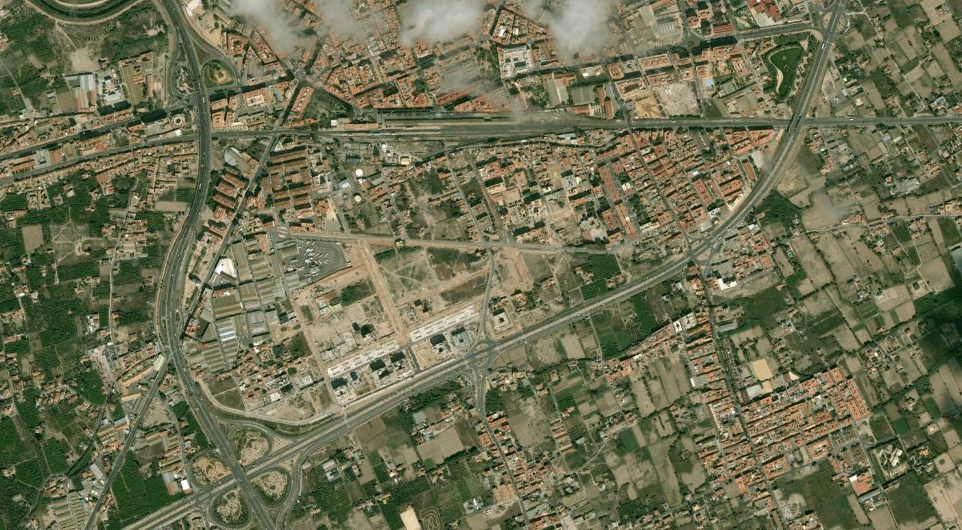 murcia, ferrocarril, soterra soterra mexpló, antes, urbanismo, planeamiento, urbano, desastre, urbanístico, construcción