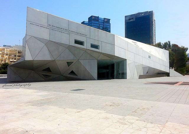 Art Museum of Tel Aviv - sensational inside architecture