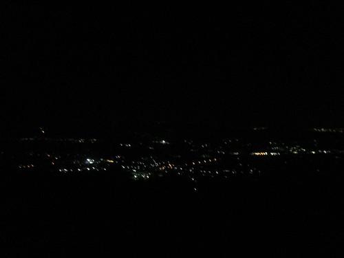 米原とかの夜景はそこそこきれいだった。