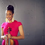 Violinist Tami Lee Hughes -