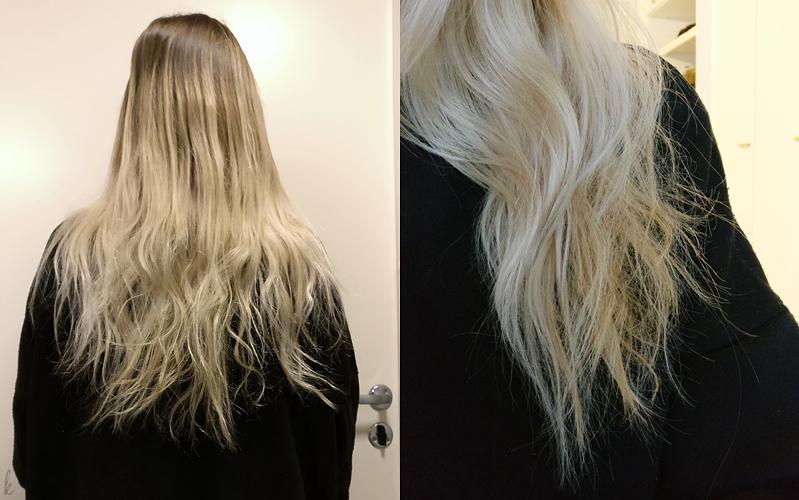 hiukset kuntoon projekti ennen