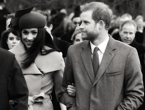 Meghan Markle and Prince Harry - Sandringham 25/12/17