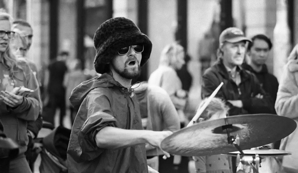 Drummer, Grafton Street. Dublin