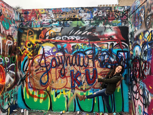 #exploreKU at the HOPE Outdoor Gallery
