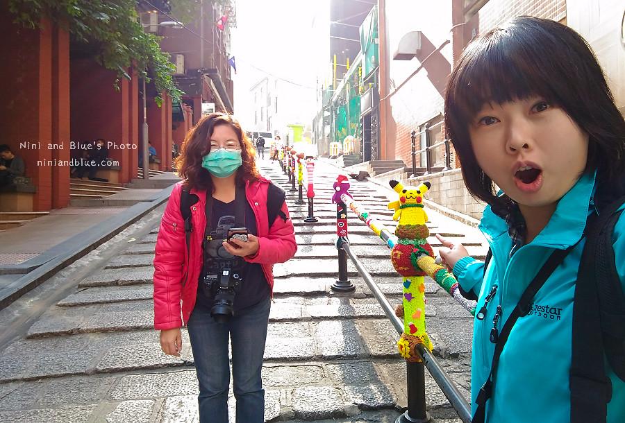 香港景點 舊城中環彩繪牆02