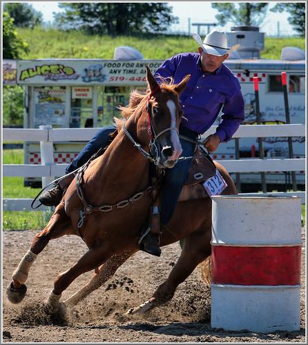 canon eos 70d 70200mm ef70200f4l psp2018 paintshoppro2018 efex topaz paris fair ontario canada barrelracing horses horse sport action