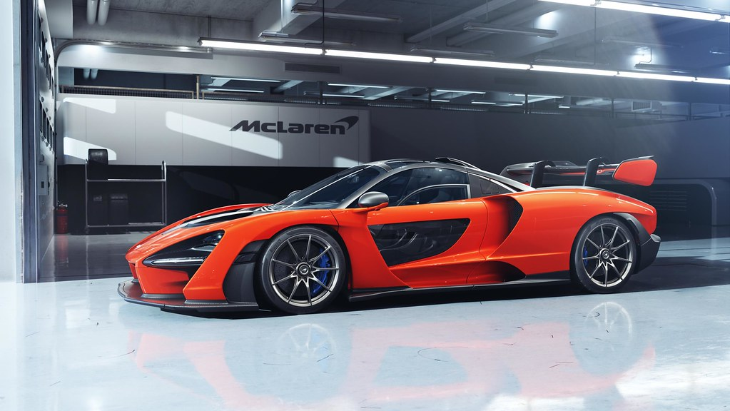McLaren Senna: the lightest McLaren road car since the iconic McLaren F1