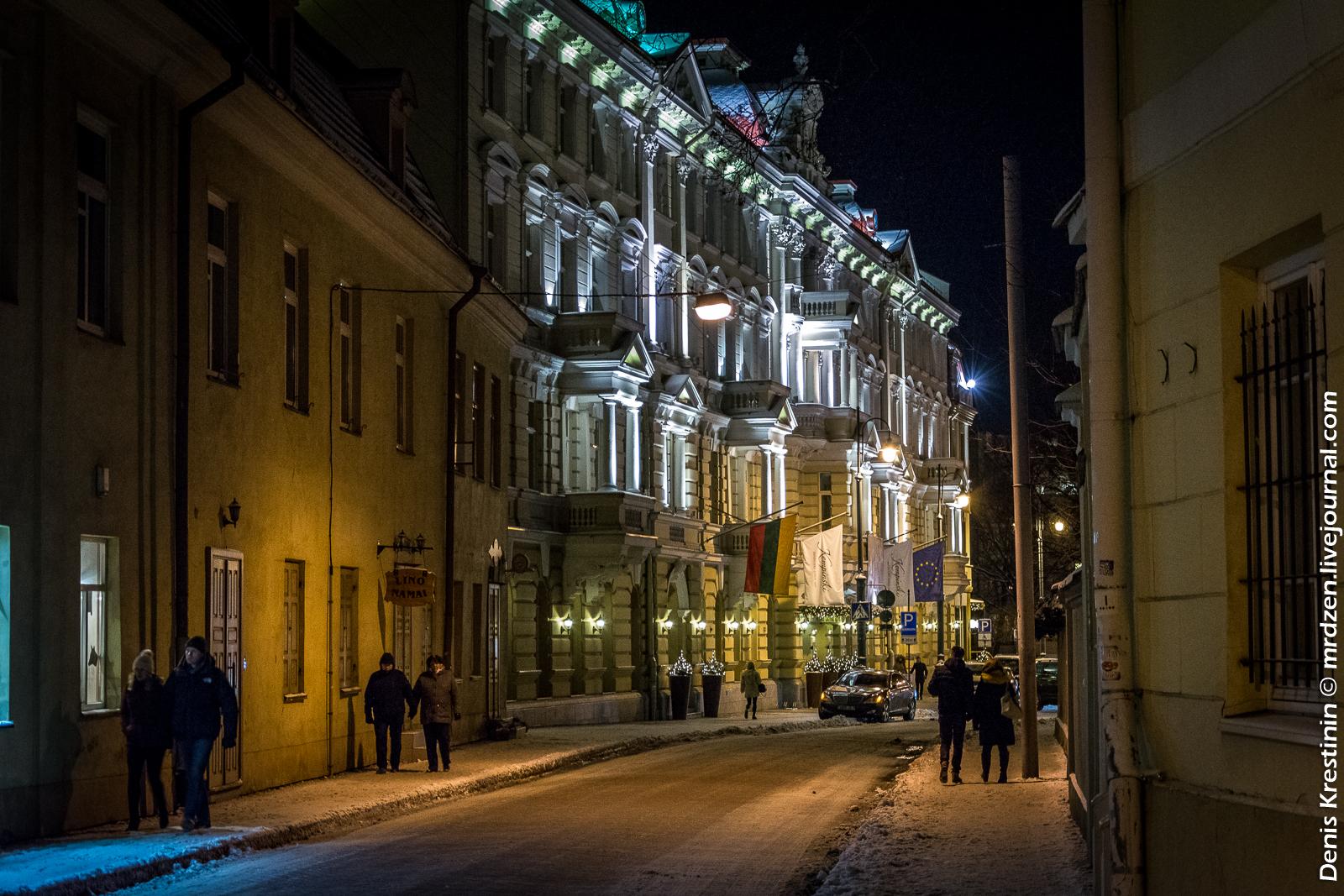 Вильнюс. Улочки старого города.