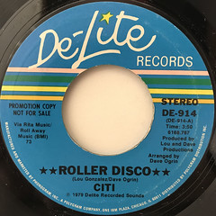 CITI:ROLLER DISCO(LABEL SIDE-B)