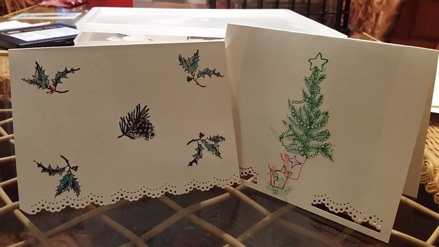 Greeting cards made by bee