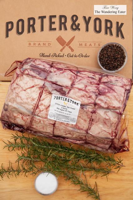 Porter & York Premium Meat - USDA 28-Day Prime Rib