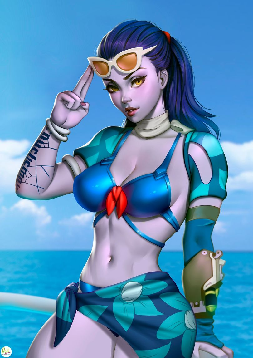 Widowmaker Summer Games, Skin 2017