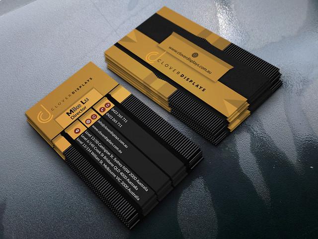 Business card, Canon POWERSHOT A810