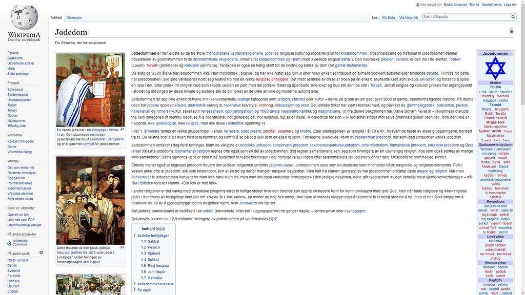 mer om jødedommen wiki
