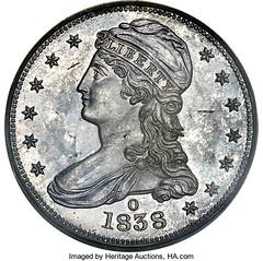1838-O Half Dollar obverse