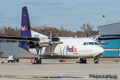 N726FE FedEx Feeder (Mountain Air Cargo) | Fokker F-27-500 Friendship | Memphis International Airport