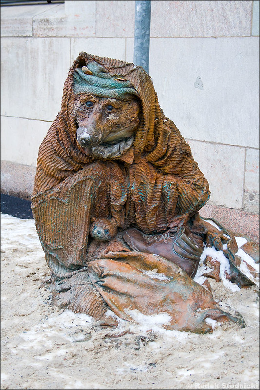 Pomnik bezdomnego