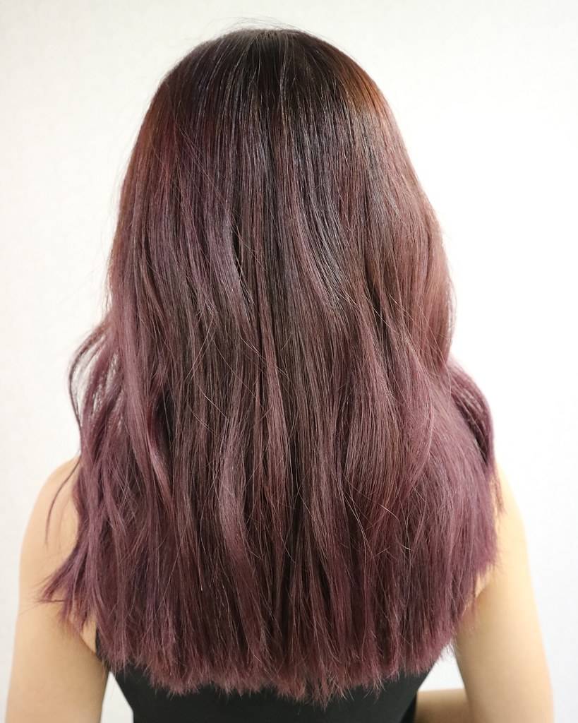purple-balayage
