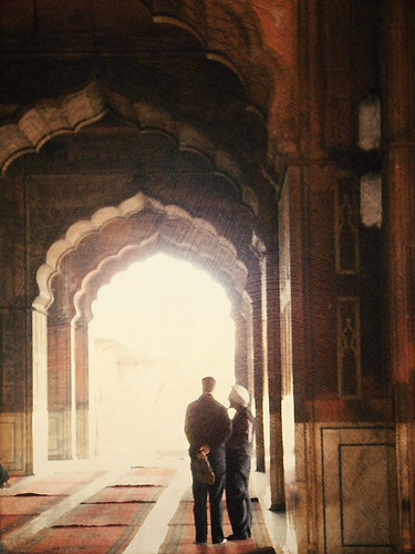 The main Mosque in Delhi, apped in Stackables