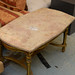 Antique solid marble coffee table E180
