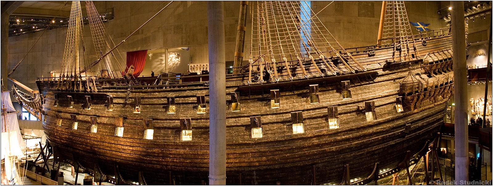 Okręt Waza w Sztokholmie