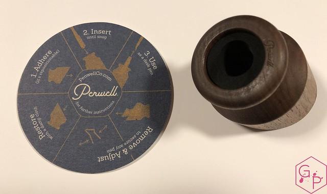 Review @PenwellCo Walnut Pen Desk Stand 3
