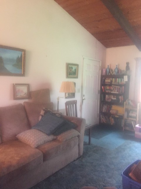 house progress - living room