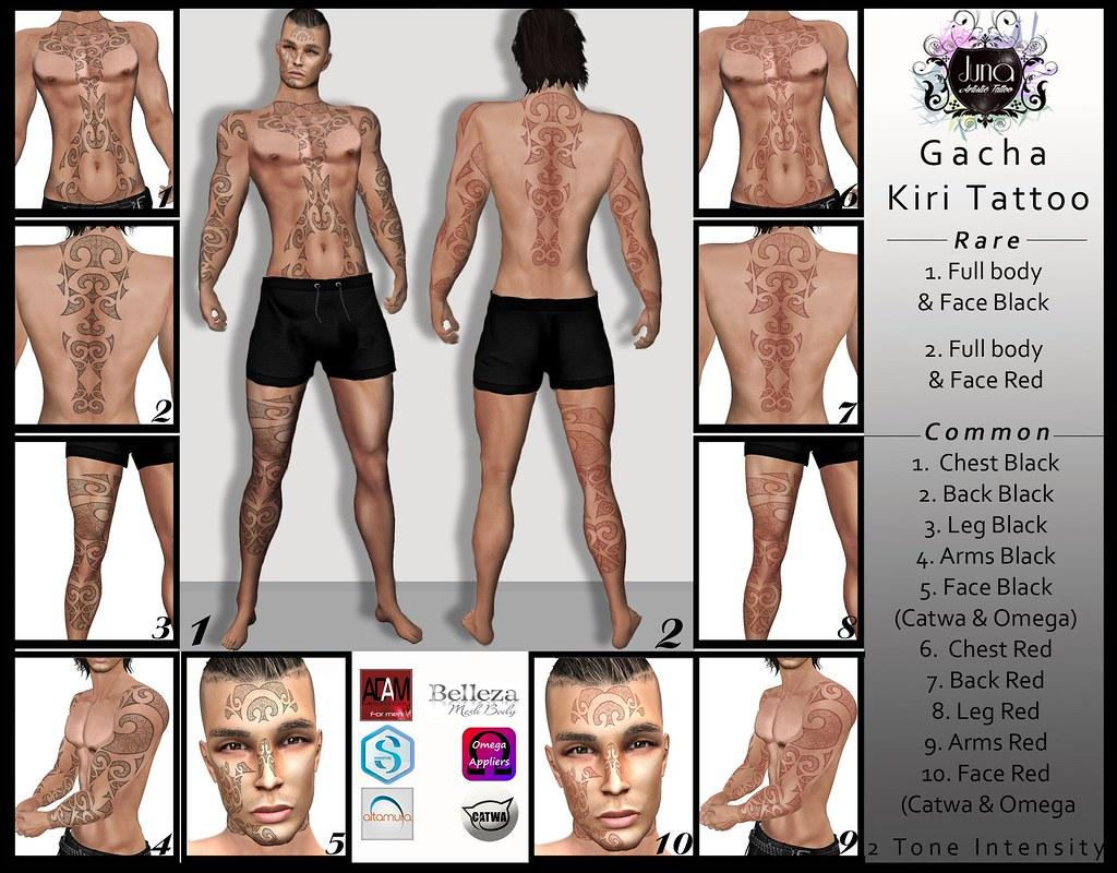 Gacha Kiri tattoo for Man - TeleportHub.com Live!