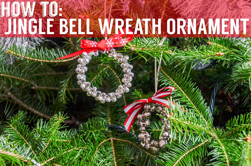 Jingle Bell Wreath Ornaments How To
