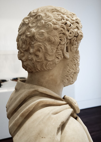 Portrait bust of a bearded man, late 2nd-early 3rd cenury CE