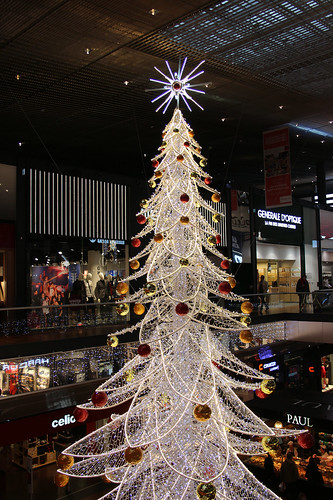 Christmas at Euralille mall