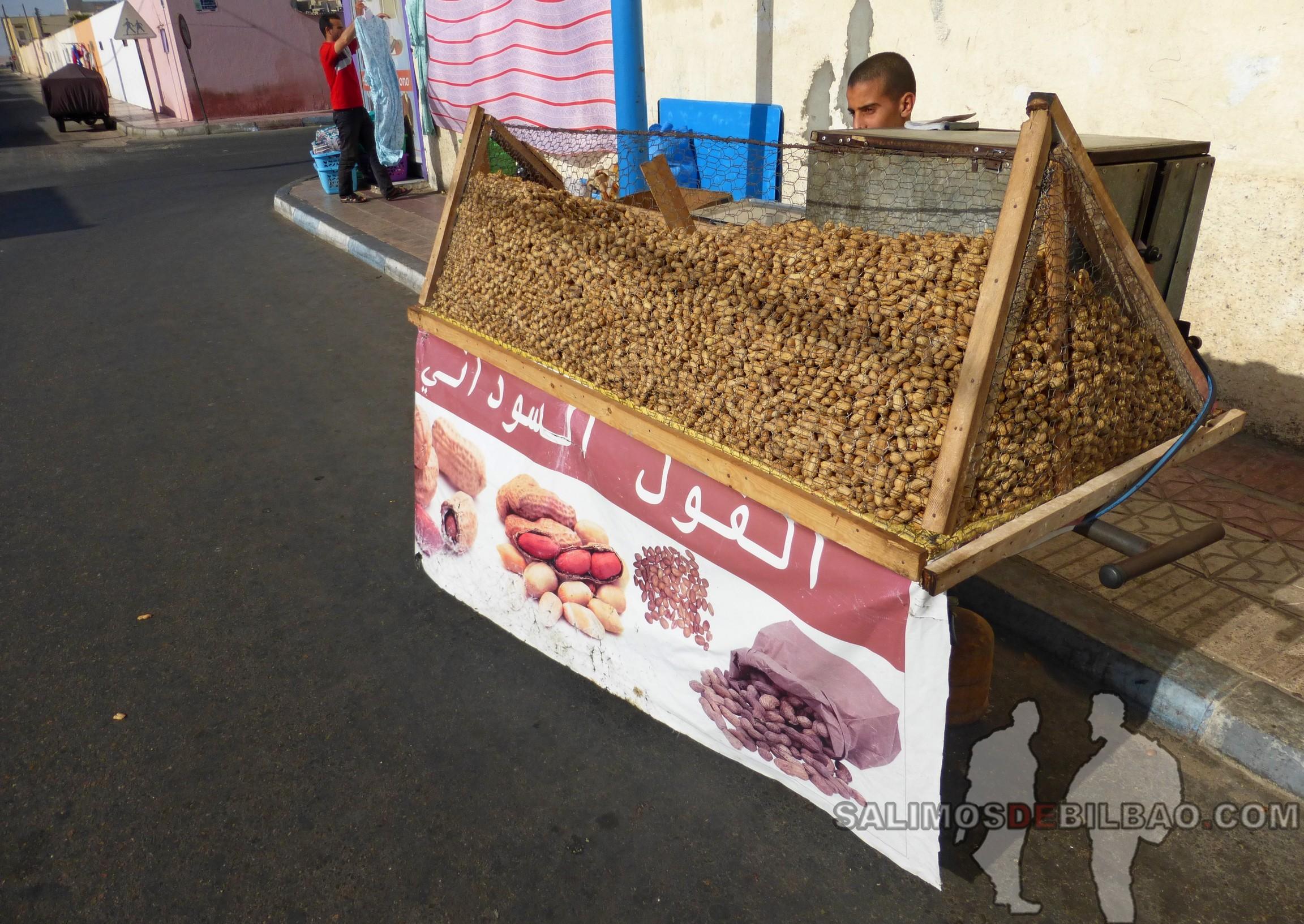 0134. Puesto de cacahuetes, Dakhla