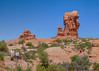 Arches National Park Panorama 18c May 4th 2017: Panoramic Image & HDR Image