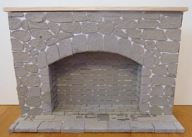 3. 1:6 Stone Fireplace