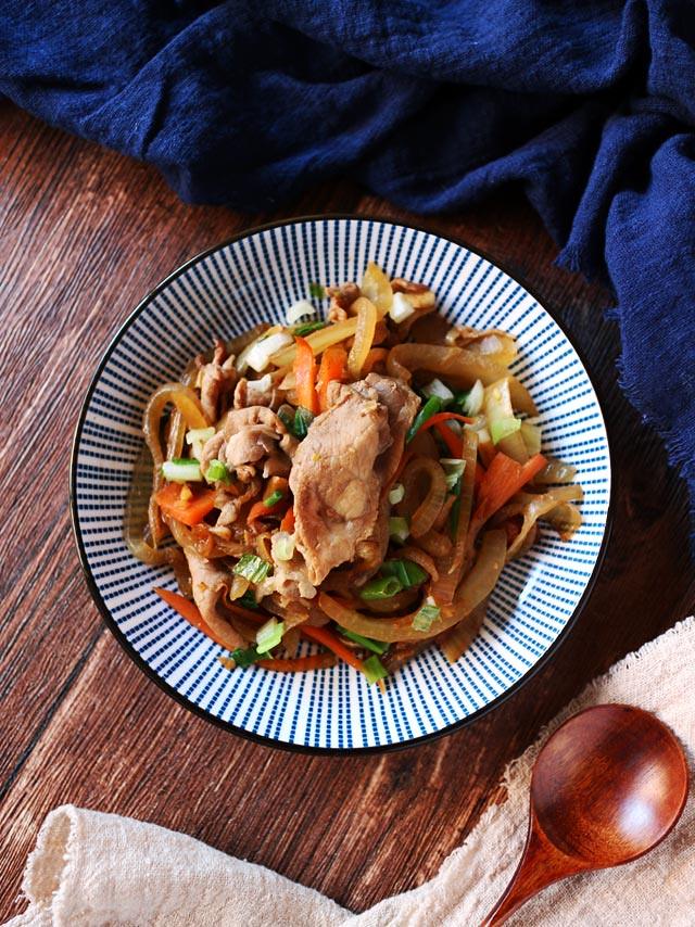洋蔥炒豬肉_大成桐德黑豚 pork-with-onion (4)