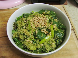 Herbed Couscous and Kale Salad with Green Apple