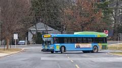 Montgomery County Transit Ride On 2011 Gillig Low Floor Advantage Hybrid #5340