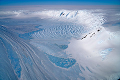 Ice and the Transantarctic Mountains