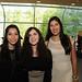 Daniela Zapata, Rocío Flores y Fernanda Vera
