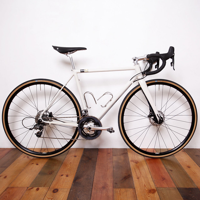 The Ground Handmade Steel Disk Road Bike