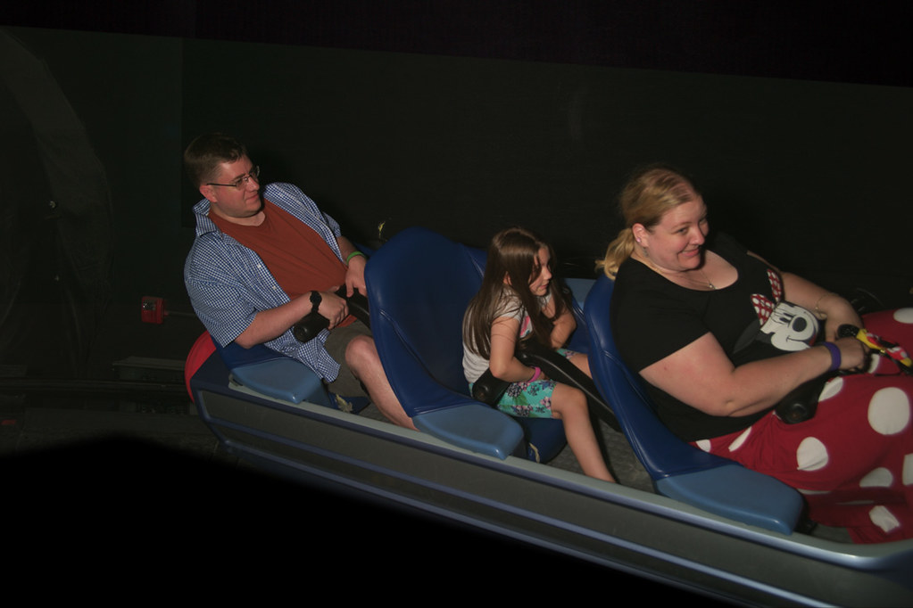 Photo on Space Mountain
