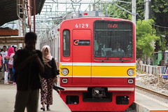 Tokyo Metro 6000 ( 6029) ;Brown Line;Stasiun Duren Kalibata