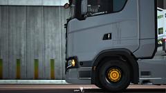 Scania S520 - Window Stickers [ETS2ProM]
