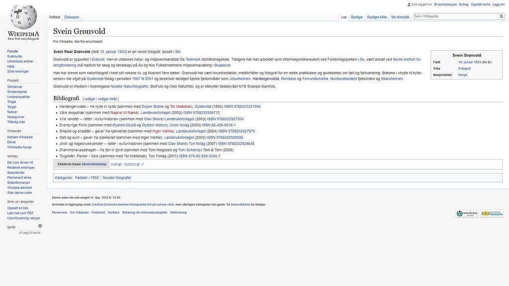 svein grønvold wiki