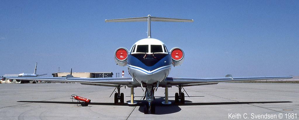 Gulfstream II nasa N947NA KEDW 19810800 15cr