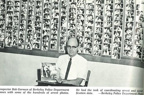 1965-Berkeley Inspector with Arrest Photos