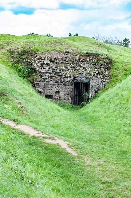 Fort de Vaux, Verdun, France